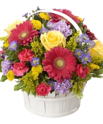 Basket of Blooms in St. Petersburg FL, Artistic Flowers