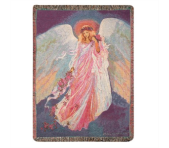 Messenger Of Spring Throw Blanket in Ambridge PA, Heritage Floral Shoppe