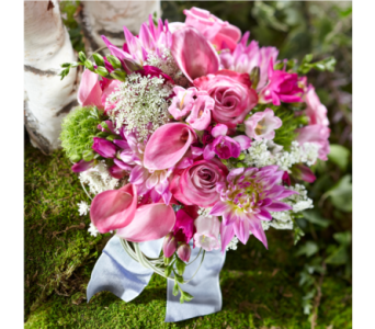 Pink Garden Wedding 2 in Albuquerque NM, Silver Springs Floral & Gift