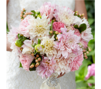 Pink Garden Wedding 5 in Albuquerque NM, Silver Springs Floral & Gift