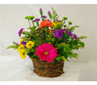 Birthday delivery hales corners wi barbs green house florist summer basket in hales corners wi barbs green house florist mightylinksfo