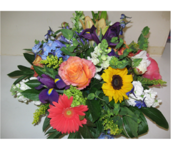 Rich assorted seasonal mix in vase  in Blue Bell PA, Country Flower Shoppe