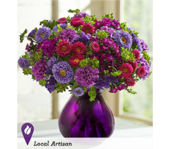 Lavender Joy Bouquet in Huntington WV, Archer's Flowers and Gallery