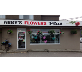 Abby Store Front in Abbotsford BC, Abby's Flowers Plus