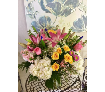 Bountiful Spring Love  in Vero Beach FL, Artistic First Florist