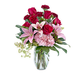 Blushing Rose in Mesa AZ, Razzle Dazzle Flowers & Gifts