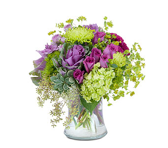 Magenta Mystery in Brockton MA, Holmes-McDuffy Florists, Inc 508-586-2000
