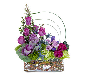 Magenta Magic in Spartanburg SC, A-Arrangement Florist