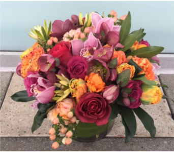 LATE SPRING MORNING BOUQUET in Bellevue WA, CITY FLOWERS, INC.