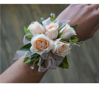 Soft Rose Corsage in Muskegon MI, Wasserman's Flower Shop