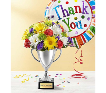 Trophy Bouquet To Say Thank You in Huntington WV, Archer's Flowers and Gallery