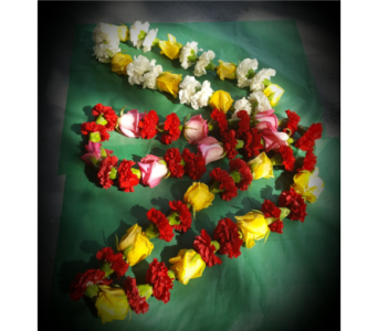 Custom Lei Designs in Santa Cruz CA, Shay's Flowers