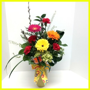 Yellow Sunshine in Hamilton ON, Joanna's Florist