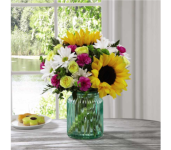 The FTD Sunlit Meadows in Norfolk VA, The Sunflower Florist