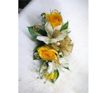 Sunshine Corsage  in Geneva NY, Don's Own Flower Shop