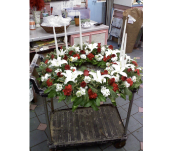 Wreath-Urn in Port Chester NY, Port Chester Florist