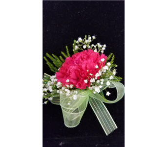 Single Carnation Corsage in Burnsville MN, Dakota Floral Inc.