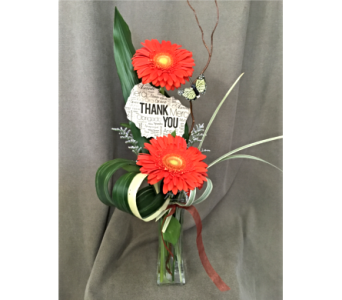 Flowerful Thanks in Grand-Sault/Grand Falls NB, Centre Floral de Grand-Sault Ltee