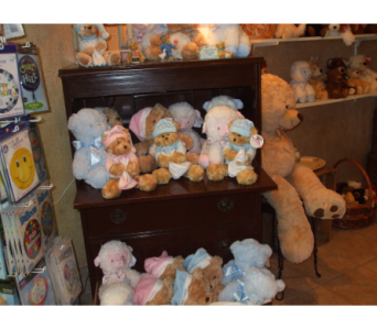 STUFFED ANIMALS in Evansville IN, Cottage Florist & Gifts