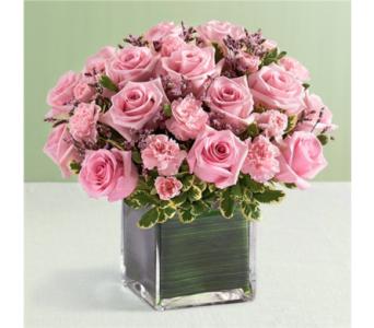 Pink Rose Fancy by Real Simple in Pittsburgh PA, Eiseltown Flowers & Gifts