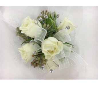 Sweet heart rose corsages delivery silver spring maryland bell spray rose wrist corsage in silver spring md bell flowers inc mightylinksfo
