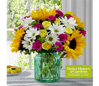 The FTD Sunlit Meadows Bouquet in Murrells Inlet SC, Callas in the Inlet