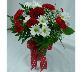 Scarlet Romance in Belleville ON, Barber's Flowers Ltd