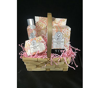 Cashmere Kiss Gift Basket in Greenville SC, Expressions Unlimited
