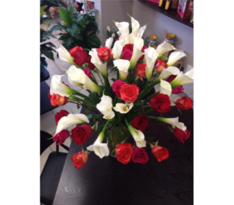 Callas and Roses in Lubbock TX, House of Flowers