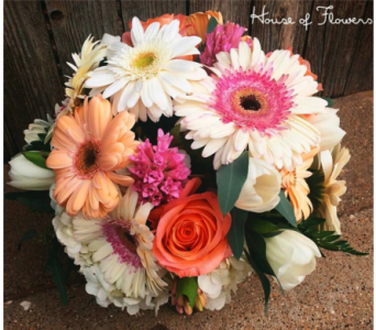 Gerbera Bouquet in Lubbock TX, House of Flowers