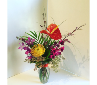 Touch of the Tropics in Tacoma WA, Blitz & Co Florist