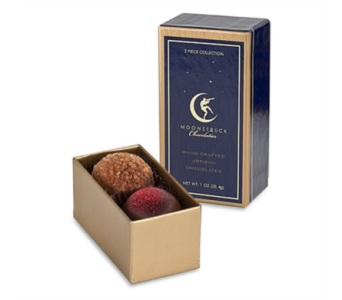 Moonstruck Chocolate 2 piece box in Bellevue WA, CITY FLOWERS, INC.
