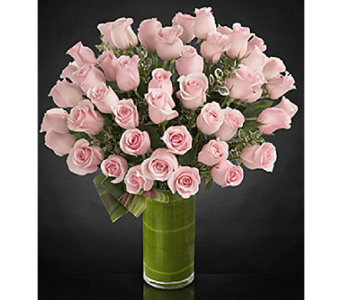 luxury Pink Roses in Houston TX, Fancy Flowers