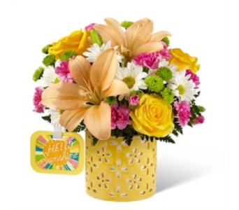 The FTD Brighter Than Bright Bouquet in Lebanon OH, Aretz Designs Uniquely Yours