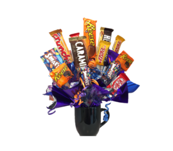 Candy Bouquet in Winkler MB, Heide's  Florist