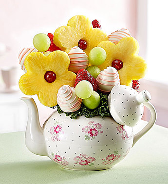 Time for Tea & Fruits in Round Rock TX, Heart & Home Flowers