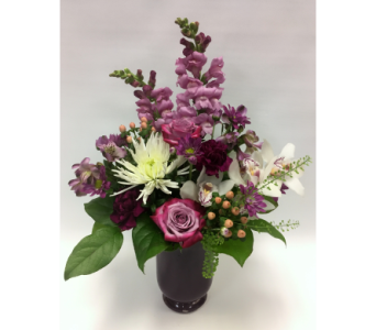 Purple Sonata in Belleville ON, Live, Love and Laugh Flowers, Antiques and Gifts