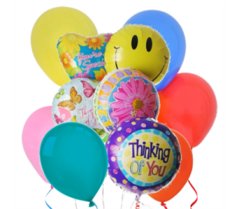 Thinking of You! Balloon Bouquet in San Antonio TX, Dusty's & Amie's Flowers