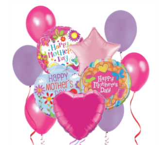 Happy Mother's Day! Balloon Bouquet in San Antonio TX, Dusty's & Amie's Flowers