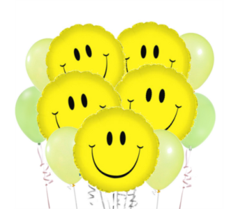 Be Happy! Balloon Bouquet in San Antonio TX, Dusty's & Amie's Flowers