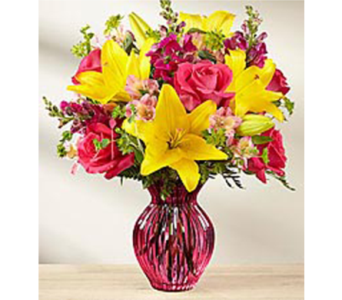Happy Spring Bouquet in Lewisville TX, D.J. Flowers & Gifts