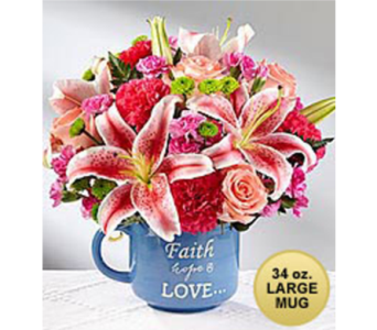 Be Blessed Bouquet in Lewisville TX, D.J. Flowers & Gifts