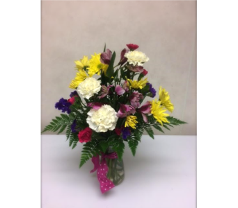 Color Mom Happy in Big Rapids MI, Patterson's Flowers, Inc.