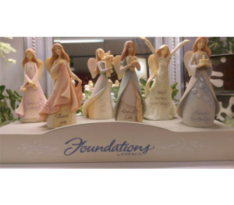 Foundation Angel in Chatham VA, M & W Flower Shop