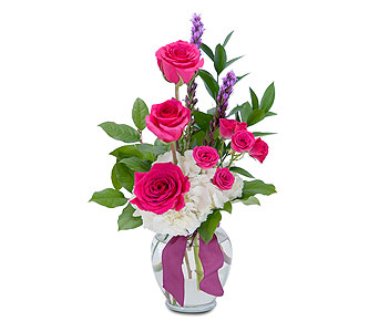 Popping Pink in Schaumburg IL, Deptula Florist & Gifts