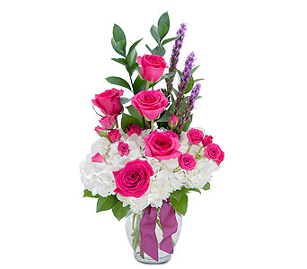Pleasantly Pink in Muscle Shoals AL, Kaleidoscope Florist & Gifts