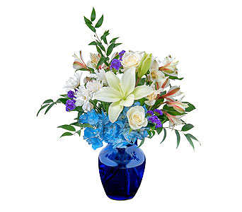 Blue Island in Escondido CA, Rosemary-Duff Florist