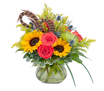Sunrise Harvest Bounty in Avon Lake OH, Sisson's Flowers & Gifts