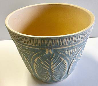12-inch Diameter Palm Leaf Pot in Northfield MN, Forget-Me-Not Florist