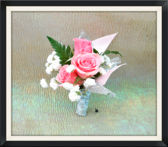 Pink Rose Boutonniere in Tyler TX, The Flower Box